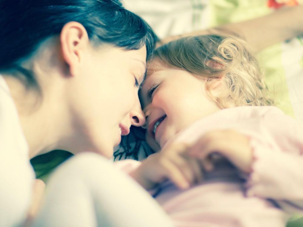 maman solo avec sa fille