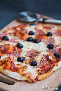 pizza jambon origan
