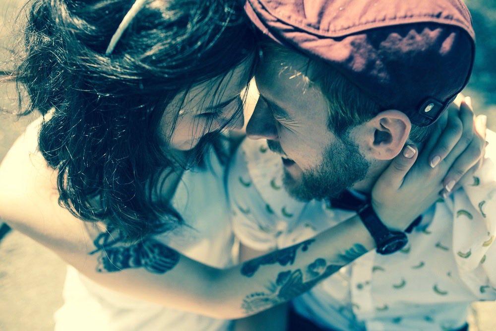 couple amoureux tatoue
