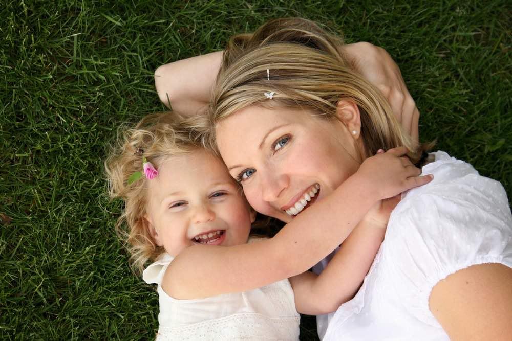 maman avec sa fille