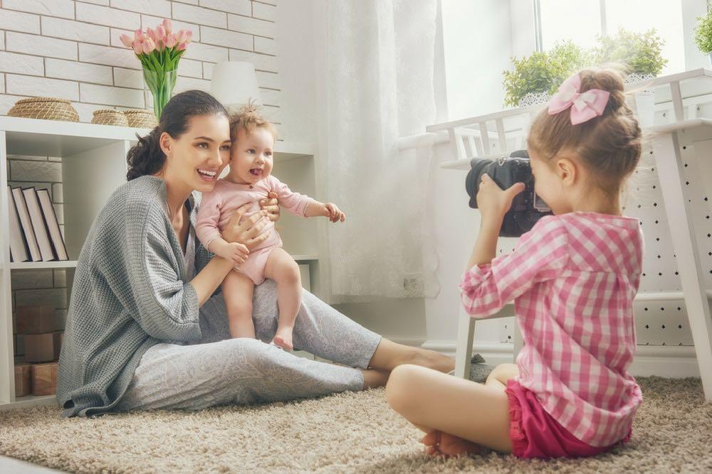 maman solo avec ses filles
